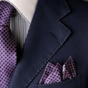 All Suits & Blazers come with free gifts : a silk